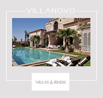Location villas riads Marrakech